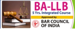 01.	B.A. LL.B. ( Five Years  Integrated Law Degree Programme)